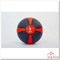 Мяч медицинский (медбол) FI-5122 3 кг