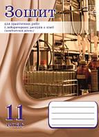 Хімія 11 клас зошит для практичних робіт і лабораторн. лослідів (академ. рівень) О. Костенко