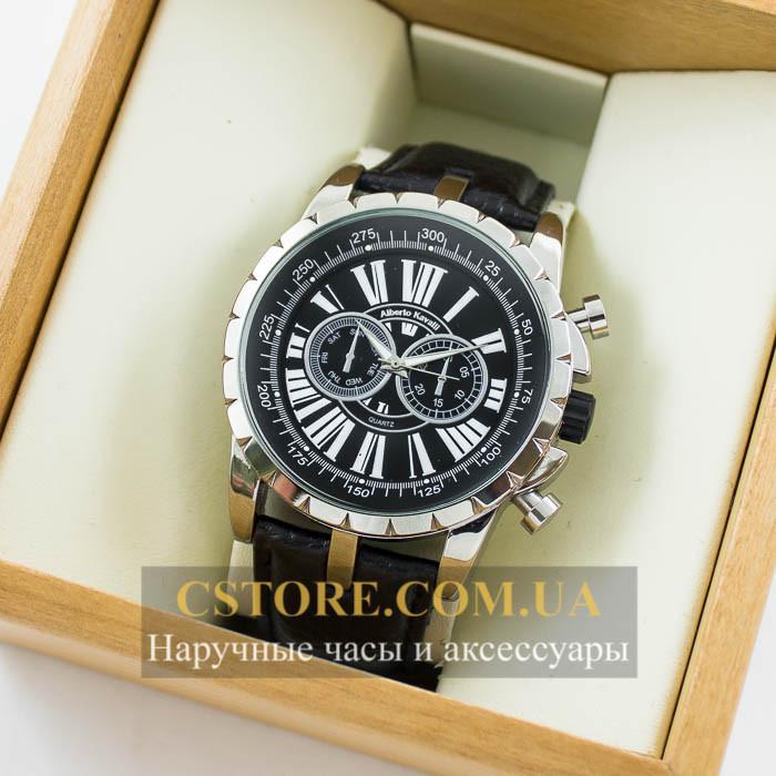 3961346a Мужские оригинальные часы Alberto Kavalli silver black 04636-8111, цена 850  грн., купить в Киеве — Prom.ua (ID#447682459)