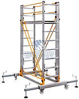 Вышка-тура модульная алюминиевая VIRASTAR 1,35x0,45м 3,8м (S005)