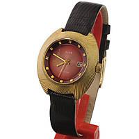Заря 22 камня позолоченные советские часы