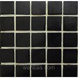 Одноцветная  стеклянная мозаика  Серия Б 20*20, фото 4