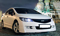 Honda Civic накладка переднего бампера Mugen-Style
