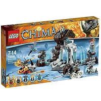 Пластиковый конструктор LEGO Chima Ледяная база Мамонтов (70226), фото 1