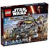 Пластмассовый конструктор LEGO Star Wars Шагоход AT-TE Капитана Рекса (75157)