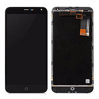 Модуль (дисплей + сенсор) Meizu M1 Note black original