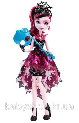 Кукла Дракулаура Танец без страха Monster High Welcome To Monster High Dance The Fright Away Draculaura Doll, фото 1