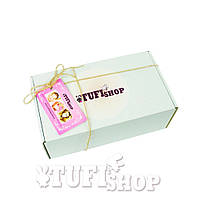 Подарочная коробка TUFISHOP - белая, 150х100х50 мм