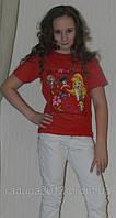 Детская футболка для девочки с принтом Винкс, фото 1