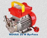 Пищевой насос Rover NOVAX-20M  By-Pass нержавеющая сталь
