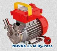 Пищевой насос Rover Pompe NOVAX-25M  By-Pass нержавеющий корпус