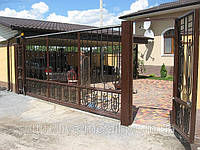 Художественная ковка ворот, фото 1
