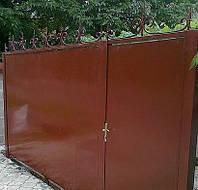 Ворота, калитки с ковкой
