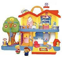 Детская игрушка Игровой набор - ЗАГОРОДНЫЙ ДОМ (свет, звук)