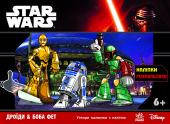 Star Wars: з наліпками Дроїди и Боба Фет… (арт.Л585008У)