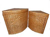 Набор корзин угловой для белья, фото 1