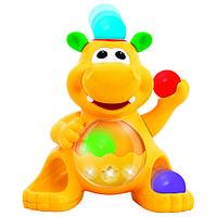 детская развивающая Игрушка - ГИППОПОТАМ-ЖОНГЛЁР (звук)