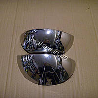Накладка на фары хром ком-кт 2 шт Chery QQ Чери КуКу S11