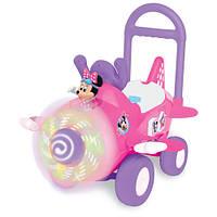 игрушка каталка Чудомобиль - САМОЛЕТ МИННИ (свет, звук)