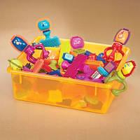 Детская игрушка Конструктор-бристл - ВЕСЕЛЫЕ ЧЕЛОВЕЧКИ (75 деталей, в коробке)
