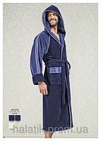 Бамбуковый халат  с капюшоном.