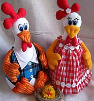 Петух и курочка, влюбленная парочка, фото 1