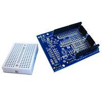 Arduino Uno Prototype Shield + макетная плата