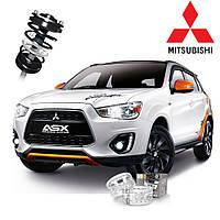 Автобаферы ТТС для Mitsubishi ASX (2 штуки)