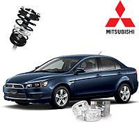 Автобаферы ТТС для Mitsubishi Galant (2 штуки)