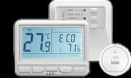 Беспроводной WiFi терморегулятор LETO smart стартовый комплект для котла