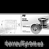 Поршень PIS10003350 (труба 100, отвір33, ширина 50)