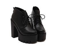 Спортивные черные кроссовки без шнуровки, фото 1