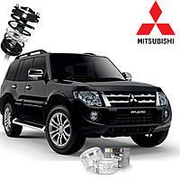 Автобаферы ТТС для Mitsubishi Pajero (2 штуки)