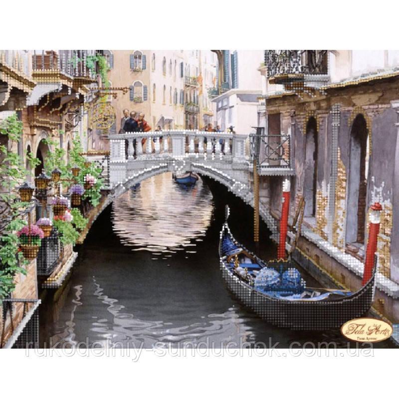 Схема для вышивания бисером Tela Artis Живописная Венеция ТА-110