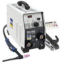 Сварочный инвертор аргонодуговой сварки GYS TIG 200 DC HF FV с горелкой  SR17DB
