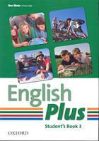 Учебник по английскому языку English Plus 3 Student's Book (First Edition)