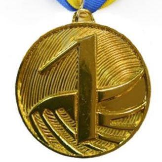 Медаль спортивна FURORE d-5см C-4868-1 місце 1-золото