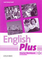 Рабочая тетрадь English Plus Starter Workbook + MultiRom (First Edition)