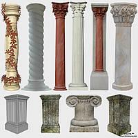 Декоративные колонны гранитные