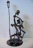 """Статуетка з металу """"Любов у парку"""""""