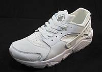 Кроссовки женские Nike Huarache белые (р.41)