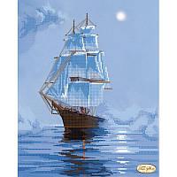 Схема для вышивания бисером Tela Artis Морскими просторами ТА-098