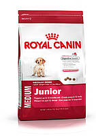 Royal Canin Medium Junior - корм для щенков средних пород с 2 до 12 месяцев 1 кг