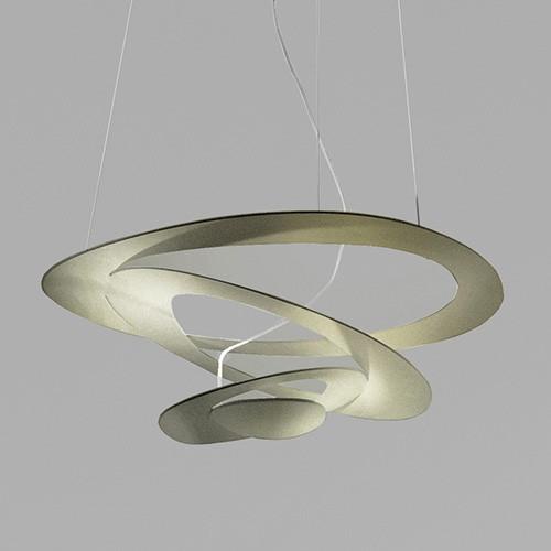 Artemide Pirce Suspension LED - White 1254110A / Gold 1254120A / Black 1254130A
