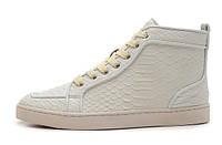 Кожаные кроссовки Christian Louboutin, фото 1