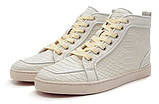 Кожаные кроссовки Christian Louboutin, фото 3