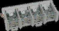 Клеммная колодка 35mm2x4P 500V для главных линий передач с крышкой (HSV35K)