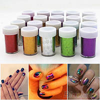 Фольга для дизайна ногтей, в баночке, фото 1