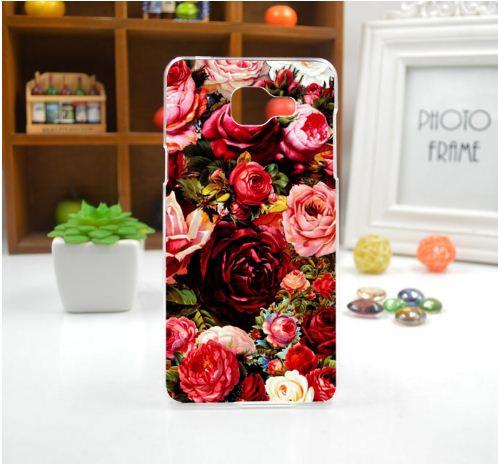 Оригинальный чехол панель накладка для Samsung Galaxy J5 Prime G570 с картинкой Розы