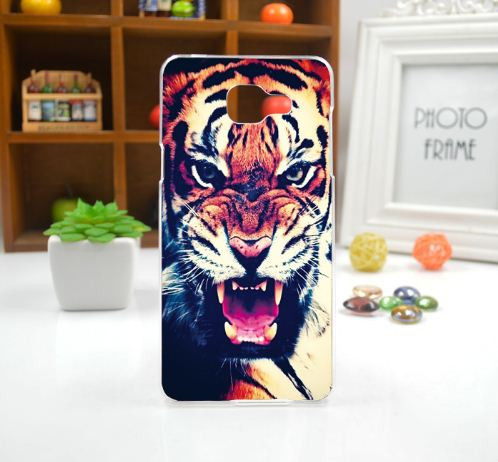 Оригінальний чохол панель накладка для Samsung Galaxy J5 Prime G570 з картинкою Тигр